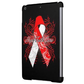 Oral Cancer Flourish Hope Faith Cure iPad Air Case