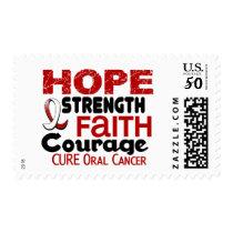 Oral Cancer HOPE 3 Postage