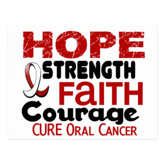 Oral Cancer HOPE 3 Post Card