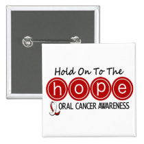 Oral Cancer HOPE 5 Button