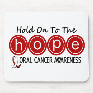 Oral Cancer HOPE 5 Mouse Pads