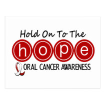 Oral Cancer HOPE 5 Postcard