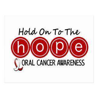 Oral Cancer HOPE 5 Postcard