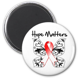 Oral Cancer Hope Matters 2 Inch Round Magnet