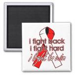 Oral Cancer I Fight Back Fridge Magnets