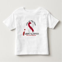 ORAL CANCER I Support My Grandpa Toddler T-shirt