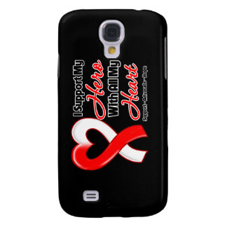 Oral Cancer I Support My Hero With All My Heart Galaxy S4 Case