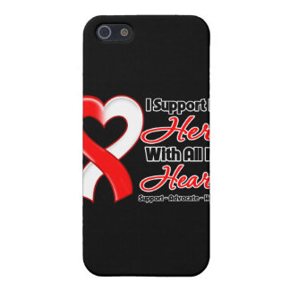 Oral Cancer I Support My Hero With All My Heart iPhone 5 Case