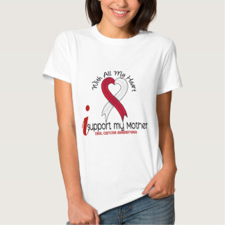 ORAL CANCER I Support My Mother T Shirt