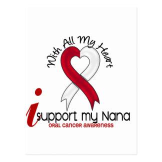 ORAL CANCER I Support My Nana Postcard