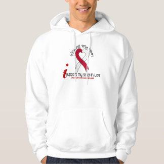 ORAL CANCER I Support My Sister-In-Law Hoodie