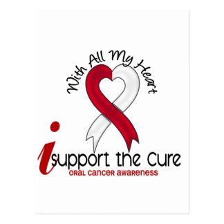 ORAL CANCER I Support The Cure Postcard