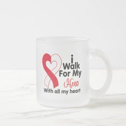 Oral Cancer I Walk For My Hero Mug