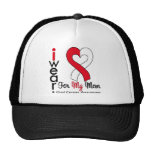 Oral Cancer I Wear Ribbon For My Mom Trucker Hat