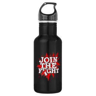 Oral Cancer Join The Fight 18oz Water Bottle