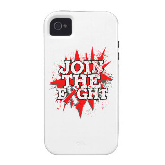 Oral Cancer Join The Fight Case-Mate iPhone 4 Cover