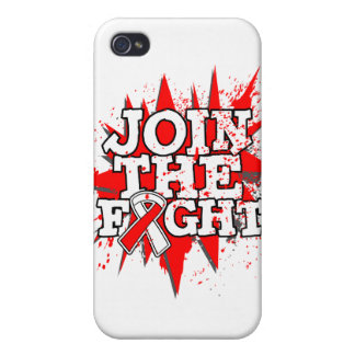 Oral Cancer Join The Fight iPhone 4 Cover