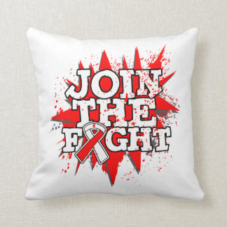 Oral Cancer Join The Fight Pillows
