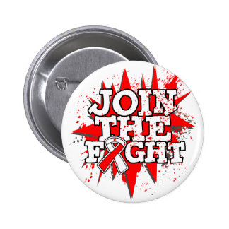 Oral Cancer Join The Fight Pinback Button