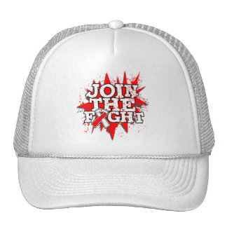Oral Cancer Join The Fight Trucker Hat