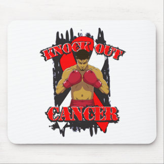 Oral Cancer Knock Out Cancer Mousepads
