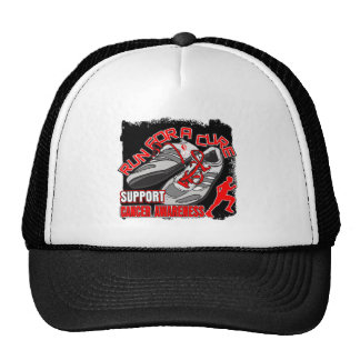 Oral Cancer - Men Run For A Cure Mesh Hats