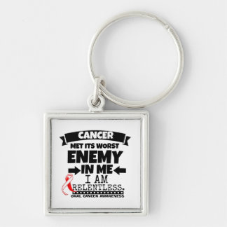 Oral Cancer Met Its Worst Enemy in Me Keychain
