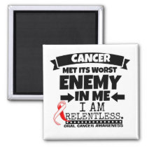Oral Cancer Met Its Worst Enemy in Me Magnet