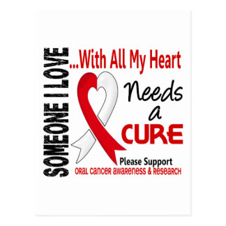 Oral Cancer Needs A Cure 3 Postcard