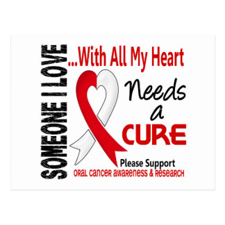 Oral Cancer Needs A Cure 3 Post Card