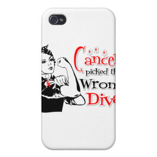 Oral Cancer Picked The Wrong Diva iPhone 4 Covers