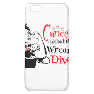 Oral Cancer Picked The Wrong Diva iPhone 5C Cases