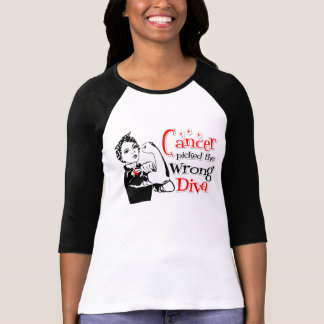 Oral Cancer Picked The Wrong Diva Tee Shirt