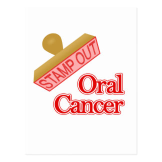 Oral Cancer Postcard