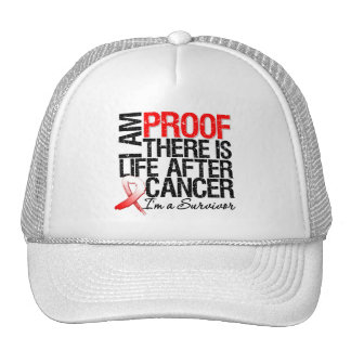 Oral Cancer Proof There is Life After Cancer Trucker Hat