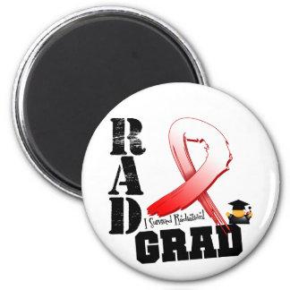 Oral Cancer Radiation Therapy RAD Grad Refrigerator Magnet