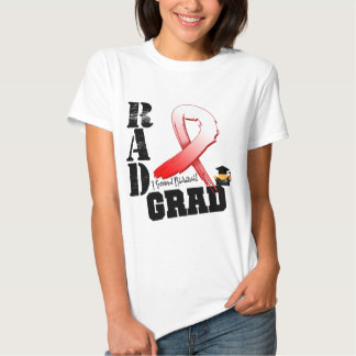 Oral Cancer Radiation Therapy RAD Grad Tee Shirt