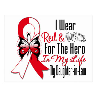 Oral Cancer Ribbon Hero My Daughter in Law Postcard