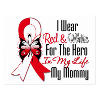 Oral Cancer Ribbon Hero My Mommy Postcards
