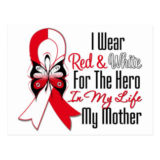 Oral Cancer Ribbon Hero My Mother Post Cards