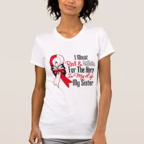 Oral Cancer Ribbon Hero My Sister T-Shirt
