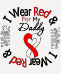 Oral Cancer Ribbon Support Daddy T-Shirt