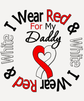 Oral Cancer Ribbon Support Daddy T-shirts