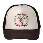 Oral Cancer Ribbon Support Sister Hats