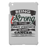 Oral Cancer Strong is The Only Choice iPad Mini Case