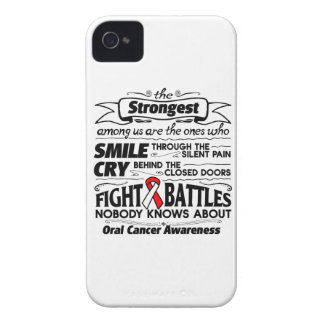 Oral Cancer Strongest Among Us Case-Mate iPhone 4 Cases