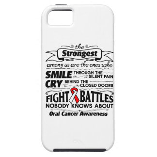 Oral Cancer Strongest Among Us iPhone SE/5/5s Case