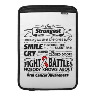 Oral Cancer Strongest Among Us MacBook Air Sleeves