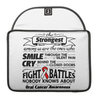 Oral Cancer Strongest Among Us Sleeves For MacBook Pro