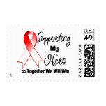 Oral Cancer Supporting My Hero Stamp